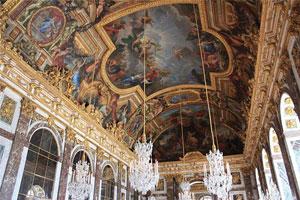 Версальский дворец (плафонная перспектива)