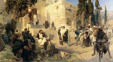 Христос и грешница (В.Д. Поленов)