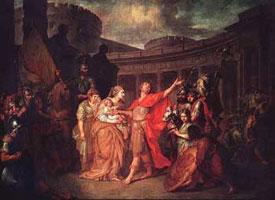 Прощание Гектора с Андромахой