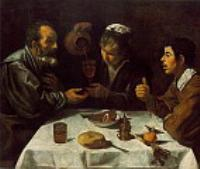 Крестьянский обед. 1618