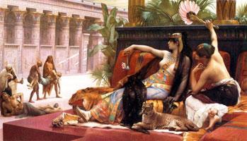 Клеопатра (Александр Кабанель)