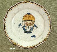 Французский революционный фаянс - тарелки