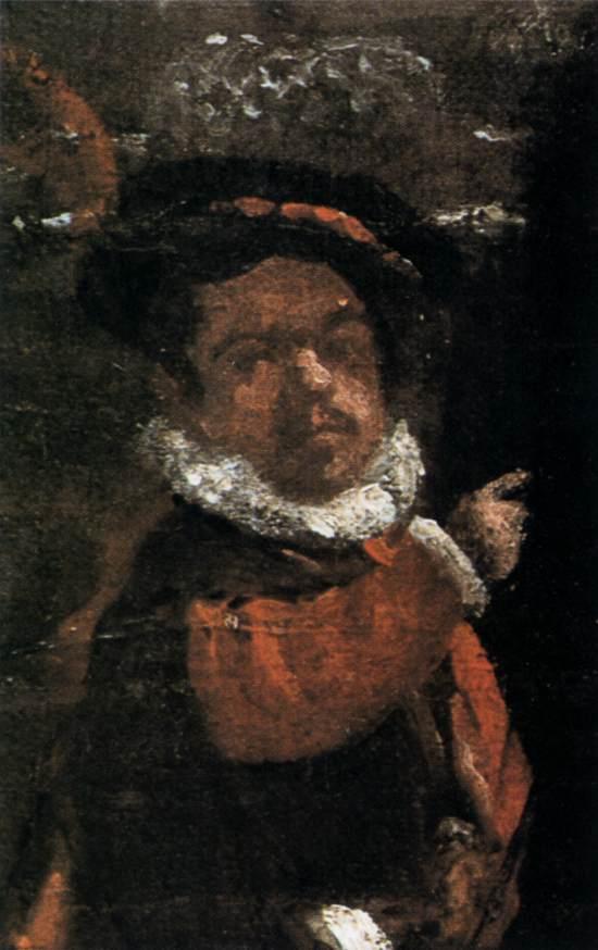"""1636 Веласкес Диего """"Принц Бальтазар Карлос с графом-герцогом Оливаресом в королевских конюшнях(фрагмент)."""""""