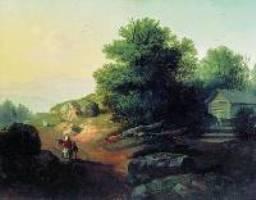 Лебедев М.. Итальянский пейзаж. 1836