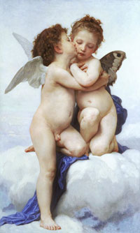 Амур и Психея в детстве (У.А. Бугро)