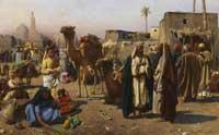 На арабском базаре (Франц Кослер)