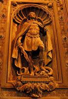 Горельеф наружных дверей