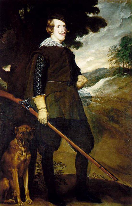 """1635 Веласкес Диего """"Король Филипп IV на охоте."""""""