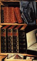 Натюрморт с книгами (П.Г. Богомолов)