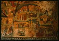 Сцена Страшного суда (церковь Ильи Пророка в Ярославле, 1715—1716 г.)