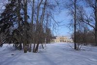 Парк Сергиевка. Луг перед дворцом