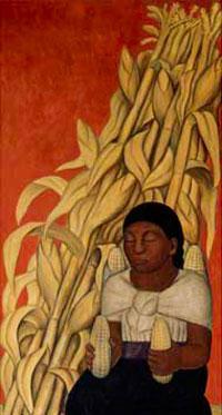 Коренные женщины (Д. Ривера)