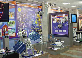 Выставочная экспозиция Роскосмоса